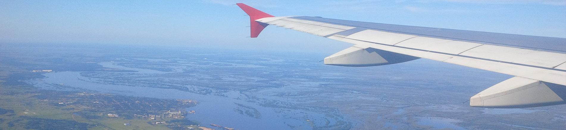 Flug nach Paraguay Banner
